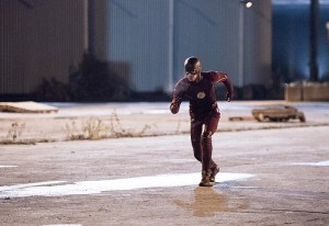 "The Flash -- ""Fast Lane"" -- Image: FLA212A_0099b.jpg -- Pictured: Grant Gustin as The Flash -- Photo: Dean Buscher/The CW -- © 2016 The CW Network, LLC. All rights reserved."