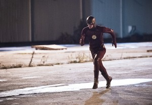 "The Flash -- ""Fast Lane"" -- Image: FLA212A_0076b.jpg -- Pictured: Grant Gustin as The Flash -- Photo: Dean Buscher/The CW -- © 2016 The CW Network, LLC. All rights reserved."