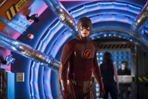 "The Flash -- ""Flash Back"" -- Image: FLA217b_0308b.jpg -- Pictured: Grant Gustin as The Flash -- Photo: Diyah Pera/The CW -- © 2016 The CW Network, LLC. All rights reserved."