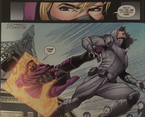 Batman and Robin Eternal 24 Steph in Action