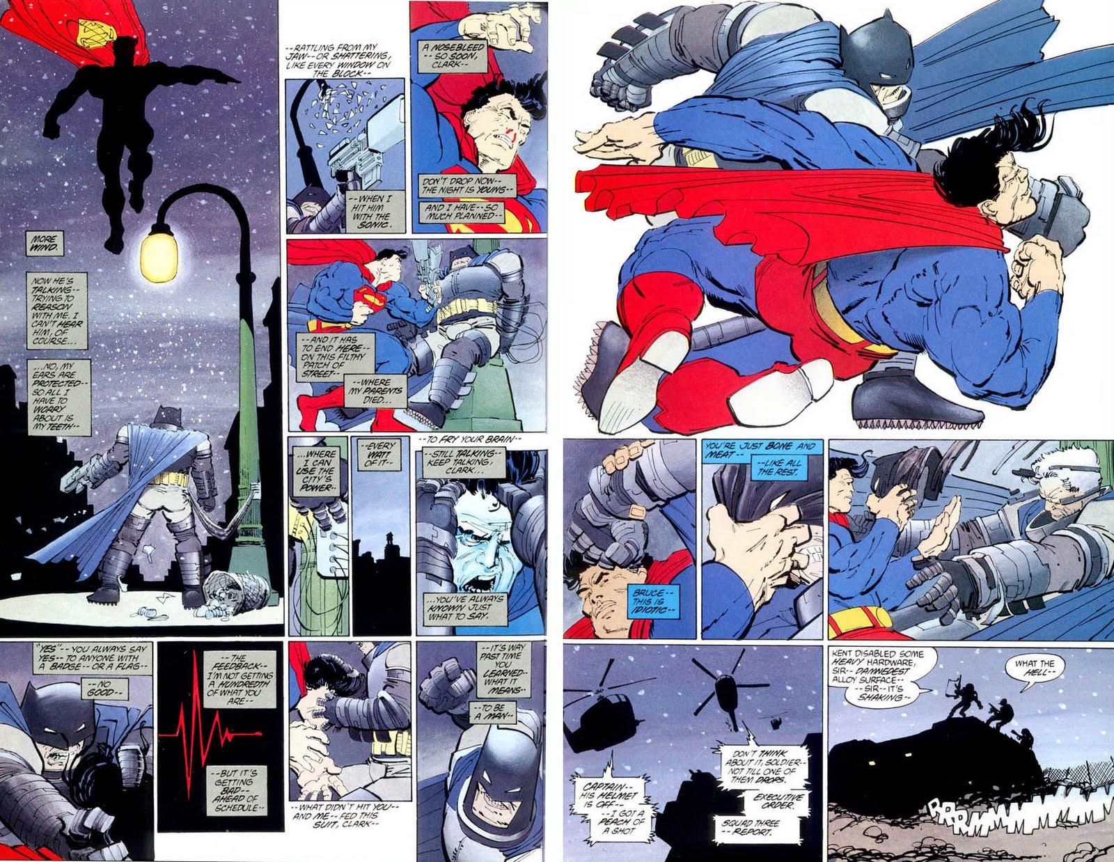 Dark knight Returns batman v superman opinion dc comics news