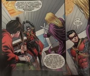 Batman and Robin Eternal 23 Recruiting Cullen and Spoiler