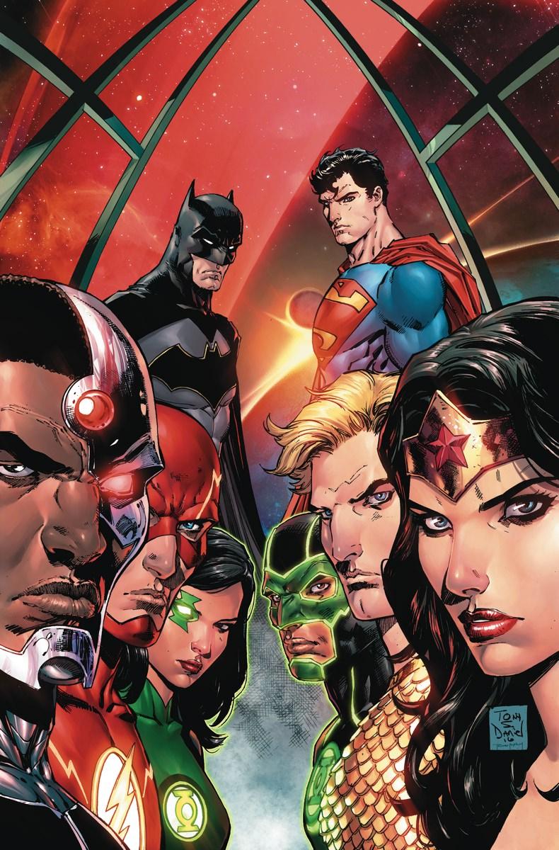 Rebirth Justice League #1