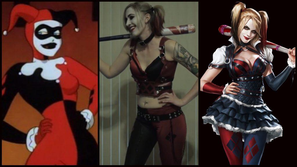Harley Quinn killing grin