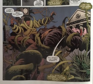 Swamp Thing 4 Cable Crazy