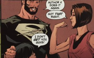 Lois and clark 8 Lois is Author X