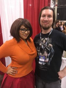 Ivy Doomkitty and yours truly.