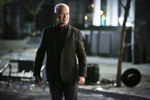 "Arrow -- ""Schism "" -- Image AR423b_0193b.jpg -- Pictured: Neal McDonough as Damien Darhk -- Photo: Bettina Strauss/The CW -- © 2016 The CW Network, LLC. All Rights Reserved."