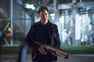 """The Flash -- """"The Race of His Life"""" -- Image: FLA223b_0056b.jpg -- Pictured: Tom Cavanagh as Harrison Wells -- Photo: Katie Yu/The CW -- © 2016 The CW Network, LLC. All rights reserved."""
