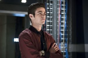 """The Flash -- """"The Race of His Life"""" -- Image: FLA223a_0179b.jpg -- Pictured: Grant Gustin as Barry Allen -- Photo: Katie Yu/The CW -- © 2016 The CW Network, LLC. All rights reserved."""