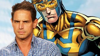 Booster Gold Greg Berlanti