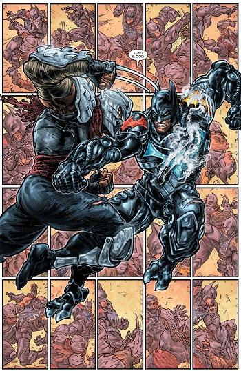 BatmanTMNY batmanvsshredder