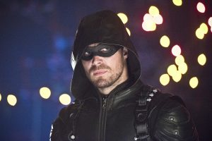 """Arrow -- """"Monument Point"""" -- Image AR421b_0349b.jpg -- Pictured: Stephen Amell as Green Arrow -- Photo: Dean Buscher/The CW -- © 2016 The CW Network, LLC. All Rights Reserved."""