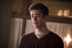 "The Flash -- "" The Runaway Dinosaur"" -- Image: FLA221a_0180b.jpg -- Pictured: Grant Gustin as Barry Allen -- Photo: Katie Yu/The CW -- © 2016 The CW Network, LLC. All rights reserved."