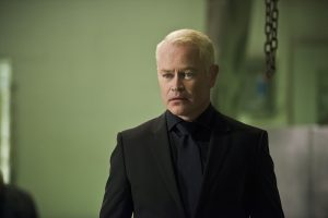 "Arrow -- ""Genesis"" -- Image AR420a_0341b.jpg -- Pictured: Neal McDonough as Damien Darhk -- Photo: Diyah Pera/The CW -- © 2016 The CW Network, LLC. All Rights Reserved."
