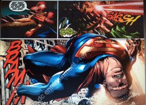 Action Comics 958 Superman laid out