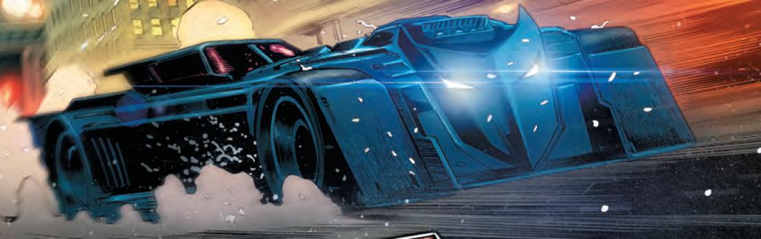 Detective Comics 935 batmobile