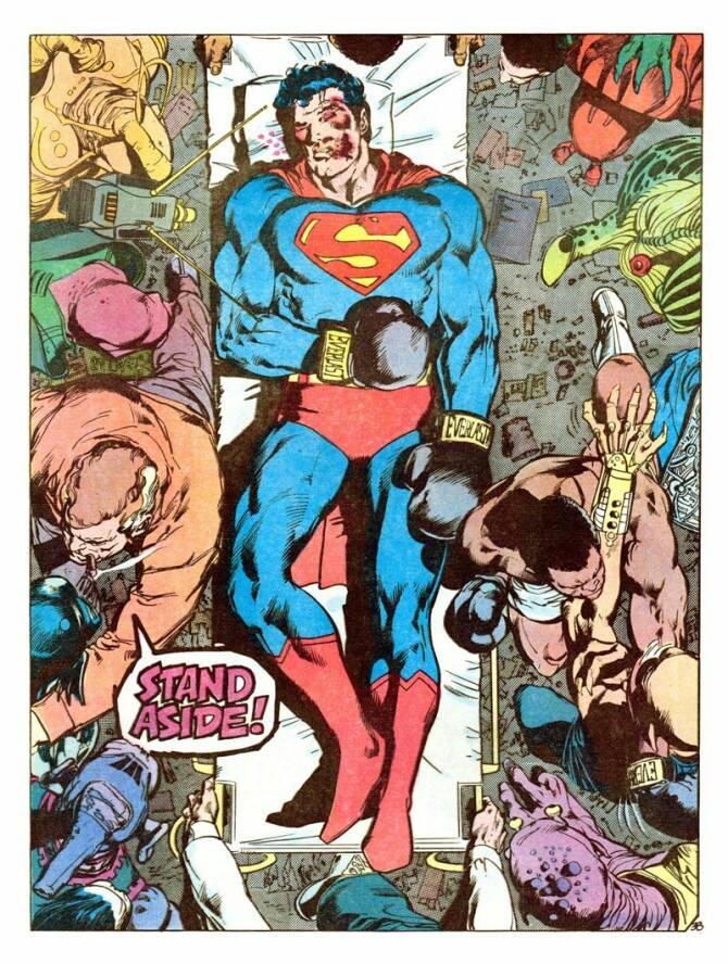 """""""Superman vs. Muhammad Ali"""" panel 2"""