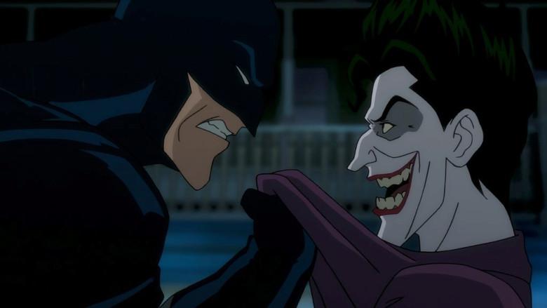 Batman confronts the Joker in 'Batman: The Killing Joke'.