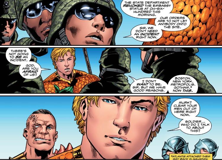 Aquaman 3 Arthur Intervenes