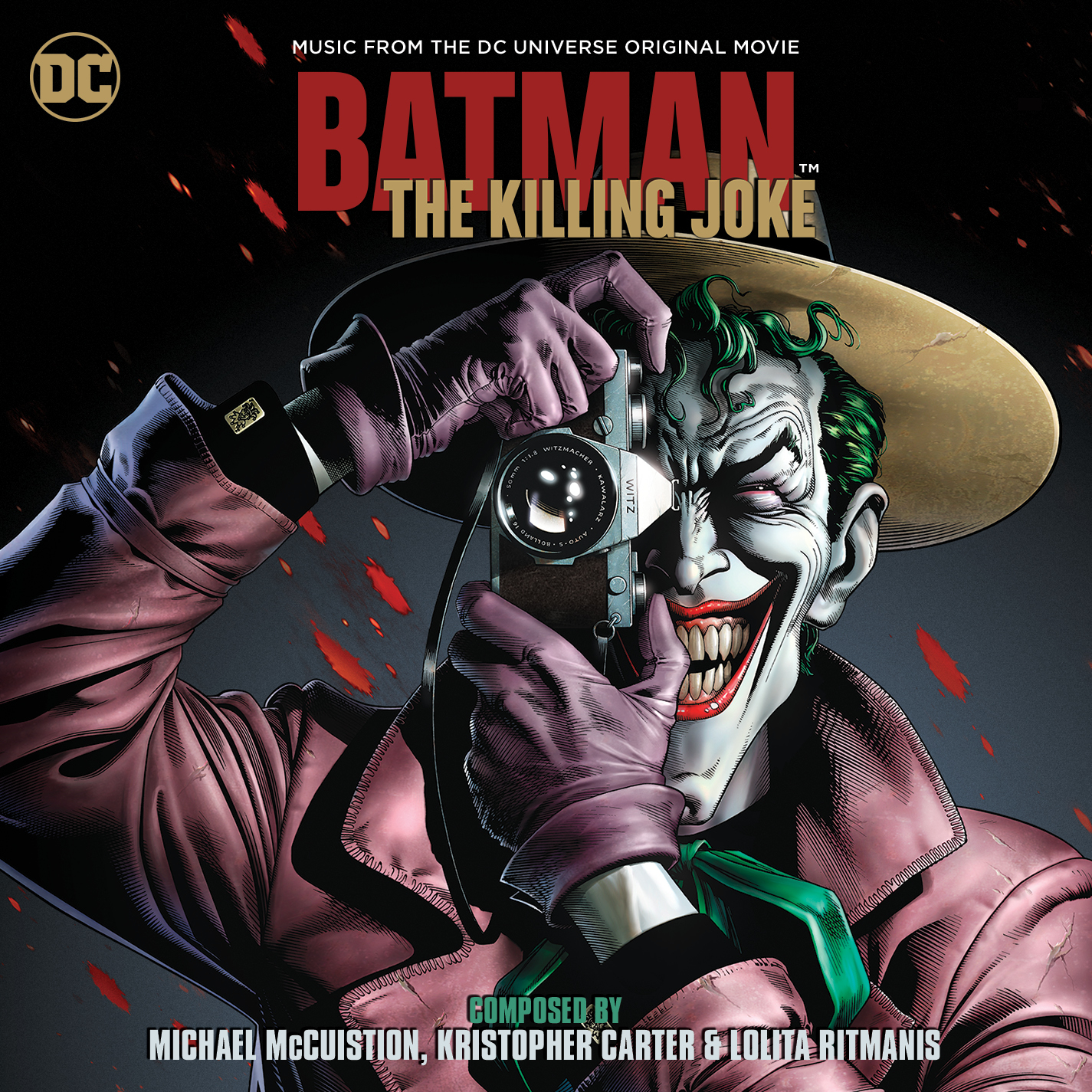 Batman The Killing Joke Soundtrack dc comics news