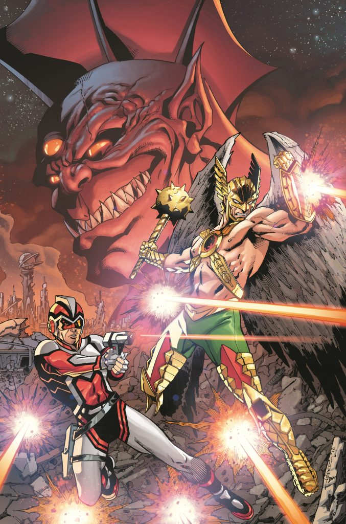 Cover from Hawkman and Adam Strange: Out of Time