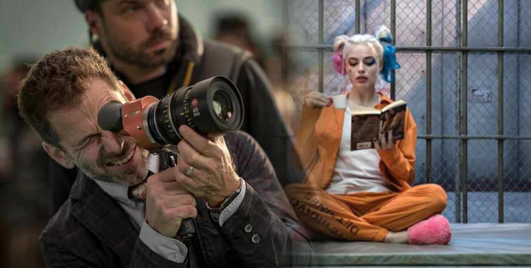 Zack Snyder and Margot Robbie