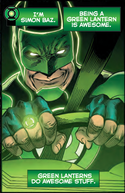 Dc Comics News Green Lanterns Simon Baz