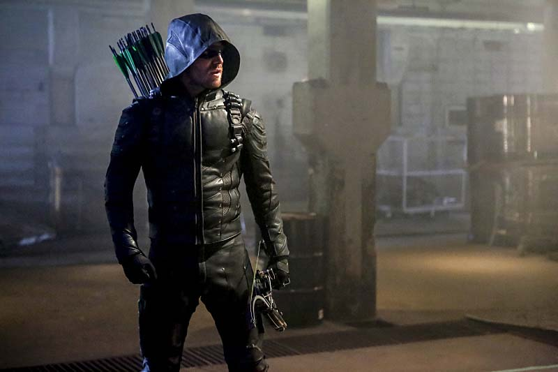 "Arrow -- ""Legacy"" -- Image AR501c_0161b --- Pictured: Stephen Amell as Green Arrow -- Photo: Bettina Strauss/The CW -- Ì?å© 2016 The CW Network, LLC. All Rights Reserved."