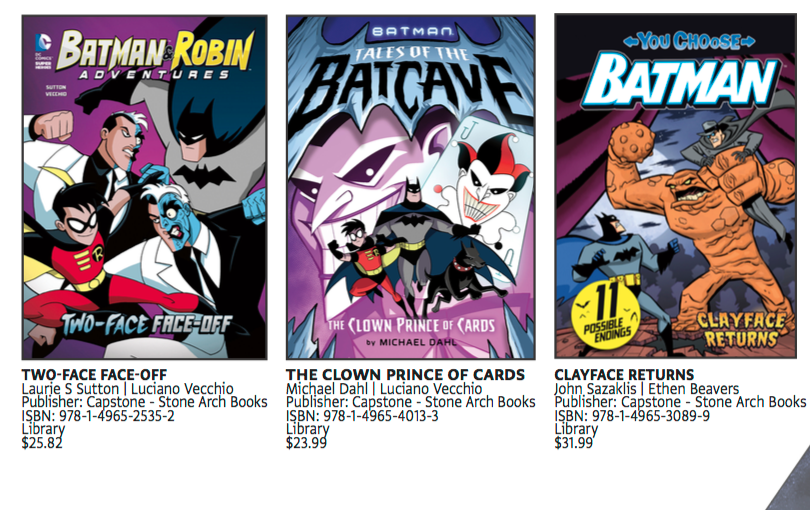 Images from the Batman Day 2016 Selling Guide. Property of DC Comics.