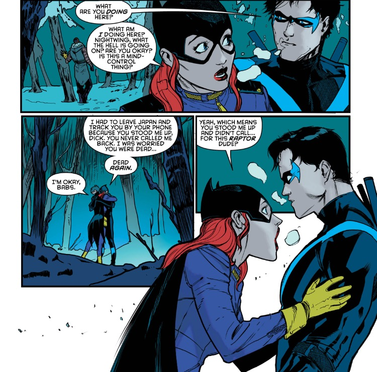 Nightwing 3 babs and dick again