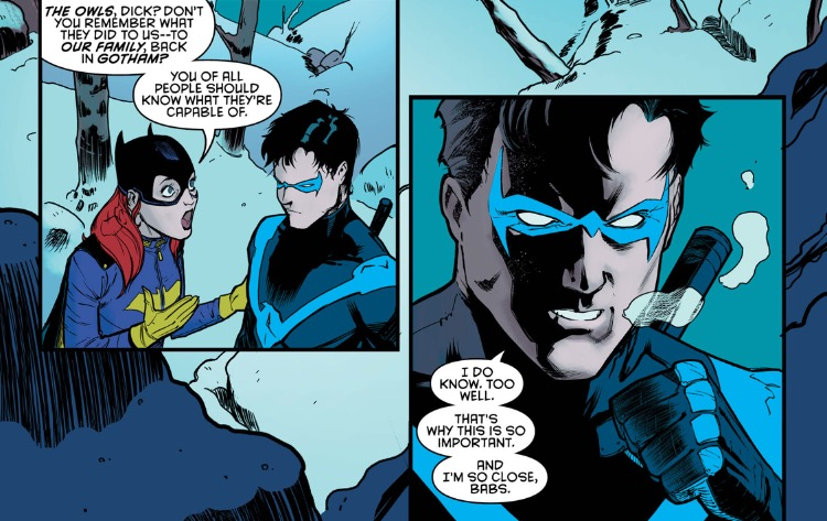 Nightwing 3 babs and dick