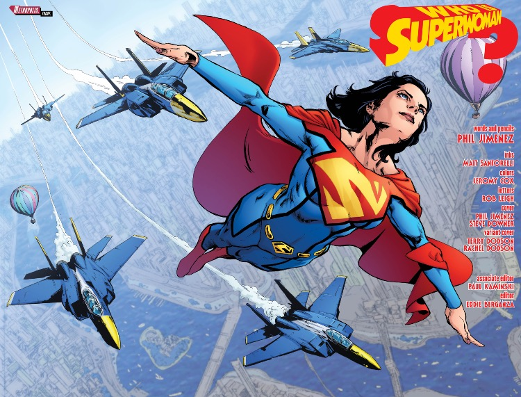 Superwoman 1 SPlash