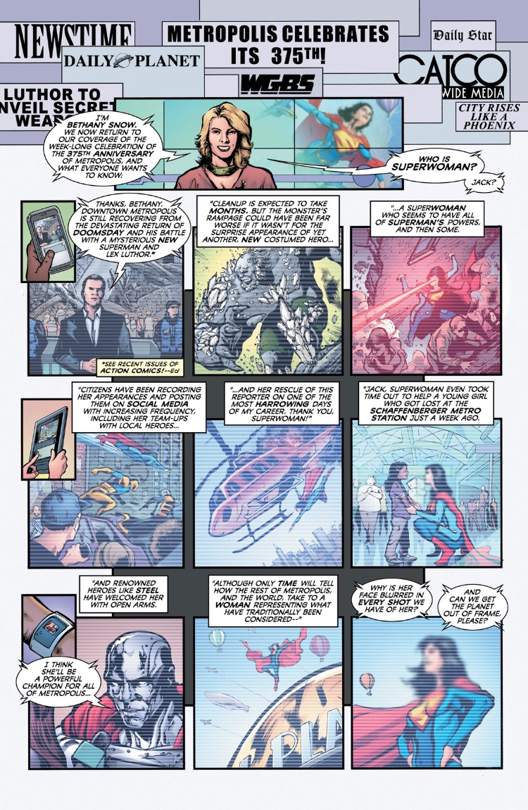 Superwoman 1 media page