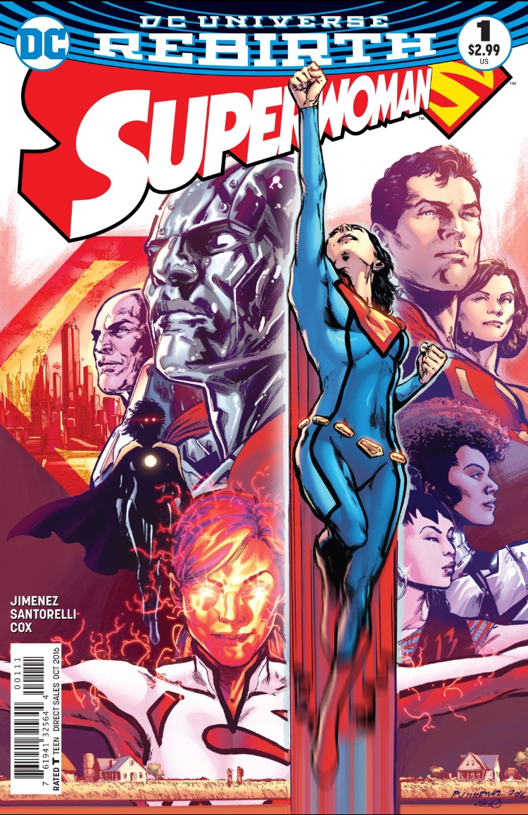 Superwoman 1 cover