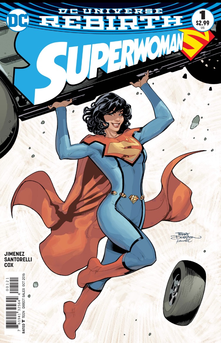 SUperwoman 1 cover 2