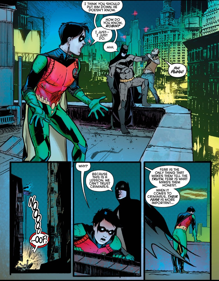 Nightwing 2 flashback