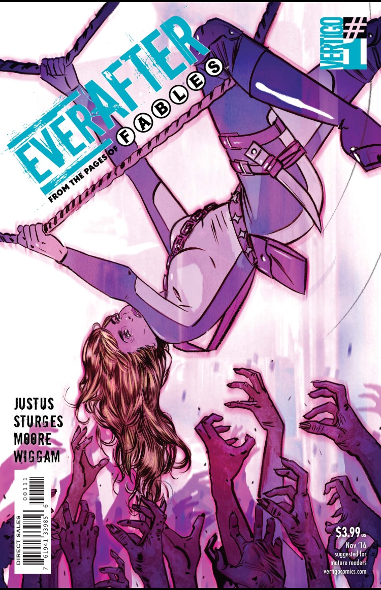 Everafter 1 cover