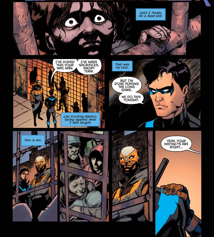 Nightwing 4 Do it your way