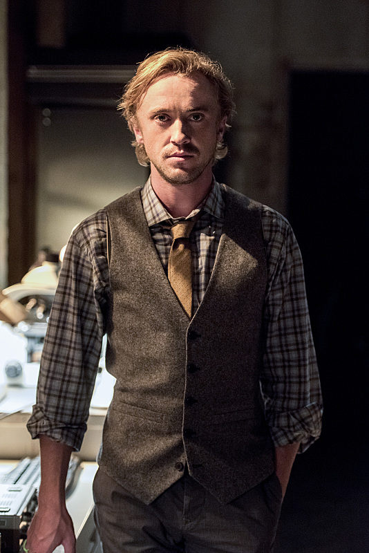 "The Flash -- ""Paradox"" -- Image: FLA302b_0258b.jpg -- Pictured: Tom Felton as Julian Albert -- Photo: Dean Buscher/The CW -- © 2016 The CW Network, LLC. All rights reserved."