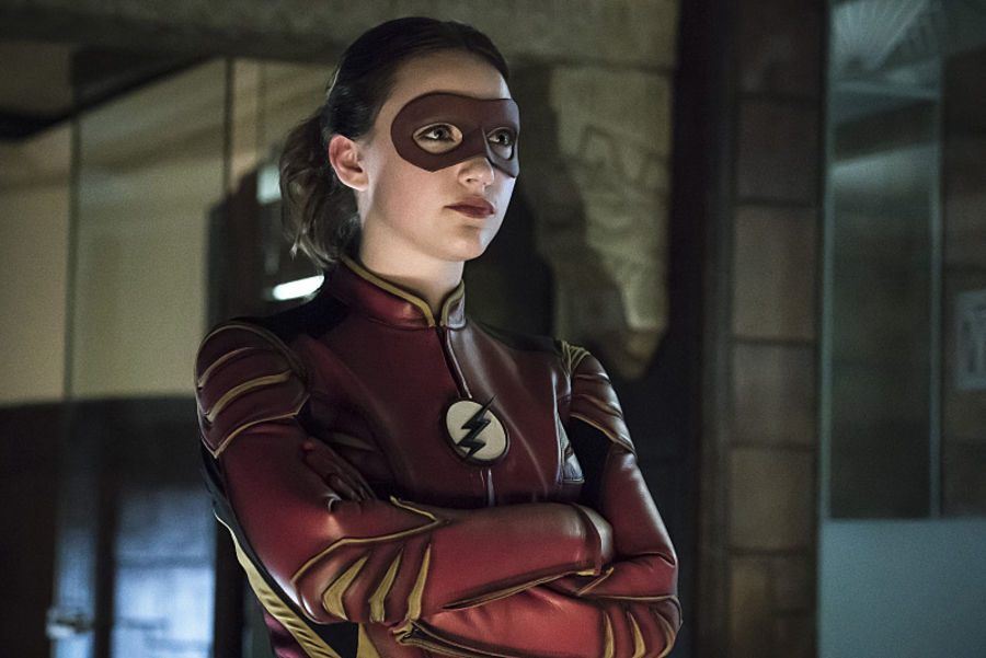 "The Flash -- ""The New Rouges"" -- Image FLA304a_0099b.jpg -- Pictured: Violett Beane as Jesse Quick -- Photo: Katie Yu/The CW -- © 2016 The CW Network, LLC. All rights reserved."