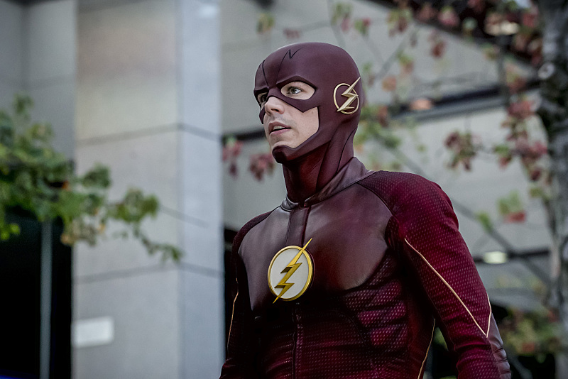 "The Flash -- ""Monster"" -- Image FLA305a_0120b.jpg -- Pictured: Grant Gustin as The Flash -- Photo: Katie Yu/The CW -- © 2016 The CW Network, LLC. All rights reserved."