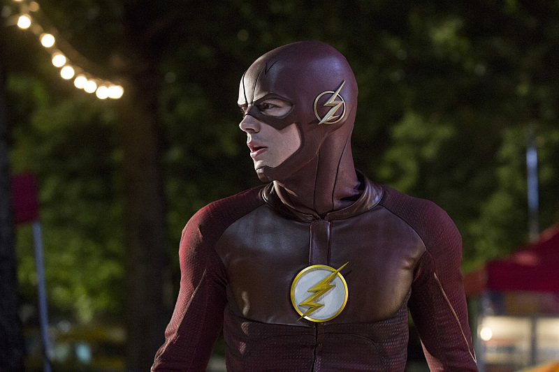 "The Flash -- ""Shade"" -- Image FLA306a_0146b.jpg -- Pictured: Grant Gustin as The Flash -- Photo: Katie Yu/The CW -- © 2016 The CW Network, LLC. All rights reserved."