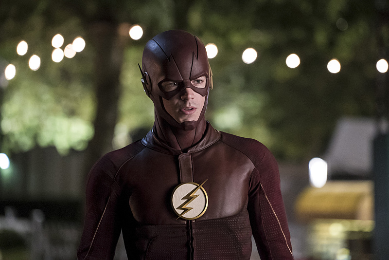 "The Flash -- ""Shade"" -- Image FLA306a_0151b.jpg -- Pictured: Grant Gustin as The Flash -- Photo: Katie Yu/The CW -- © 2016 The CW Network, LLC. All rights reserved."