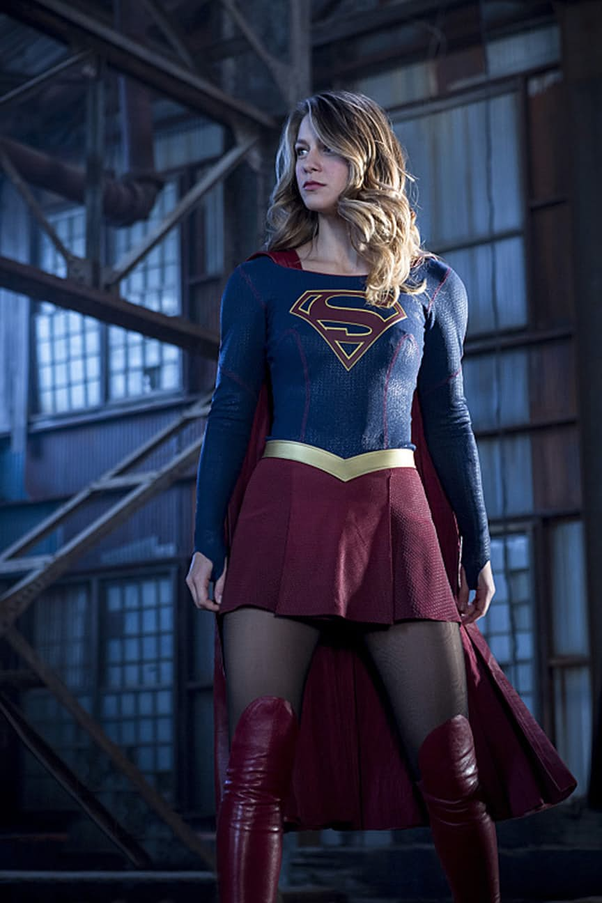"The Flash -- ""Invasion!"" -- Image FLA308a_0048b.jpg -- Pictured: Melissa Benoist as Kara/Supergirl -- Photo: Michael Courtney/The CW -- © 2016 The CW Network, LLC. All rights reserved"