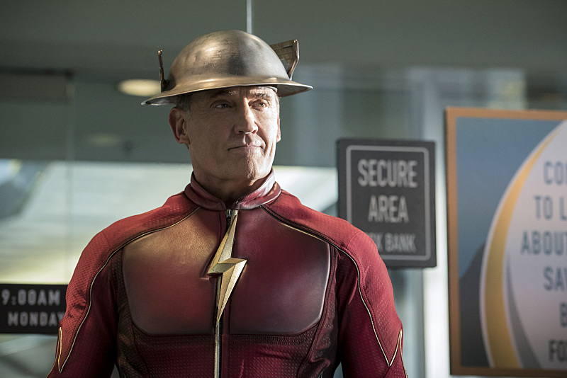 "The Flash -- ""The Present"" -- Image FLA309a_0182b.jpg -- Pictured: John Wesley Shipp as Jay Garrick -- Photo: Katie Yu/The CW -- © 2016 The CW Network, LLC. All rights reserved."