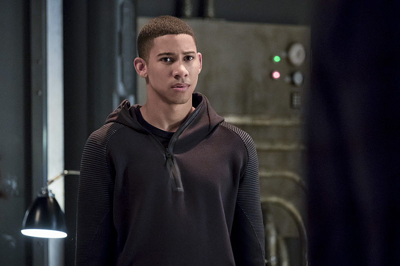 "The Flash -- ""The Present"" -- Image FLA309b_0107b.jpg -- Pictured: Keiynan Lonsdale as Wally West -- Photo: Katie Yu/The CW -- © 2016 The CW Network, LLC. All rights reserved."