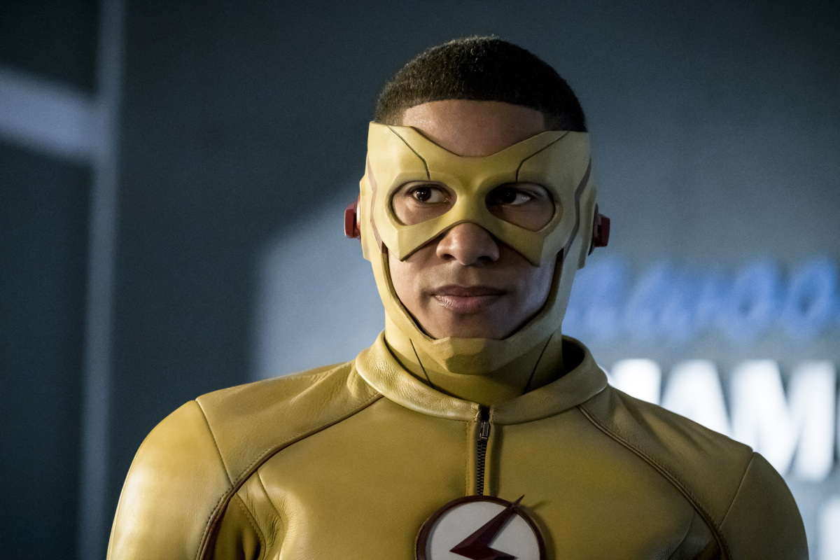 "The Flash -- ""Borrowing Problems from the Future"" -- Image FLA310a_0045b.jpg -- Pictured: Keiynan Lonsdale as Kid Flash -- Photo: Katie Yu/The CW -- © 2016 The CW Network, LLC. All rights reserved."