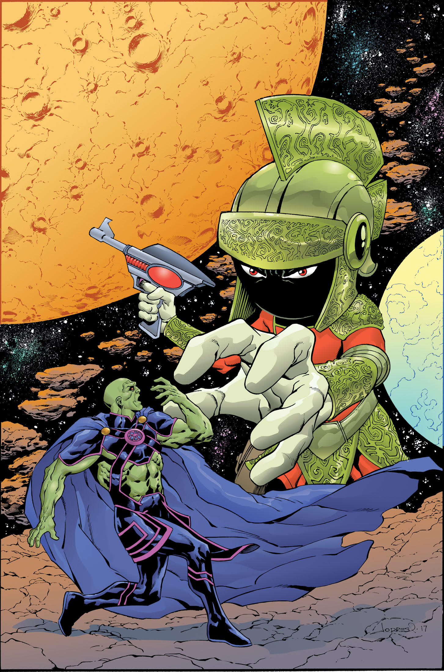 DC Looney Tunes martian manhunter dc comics news