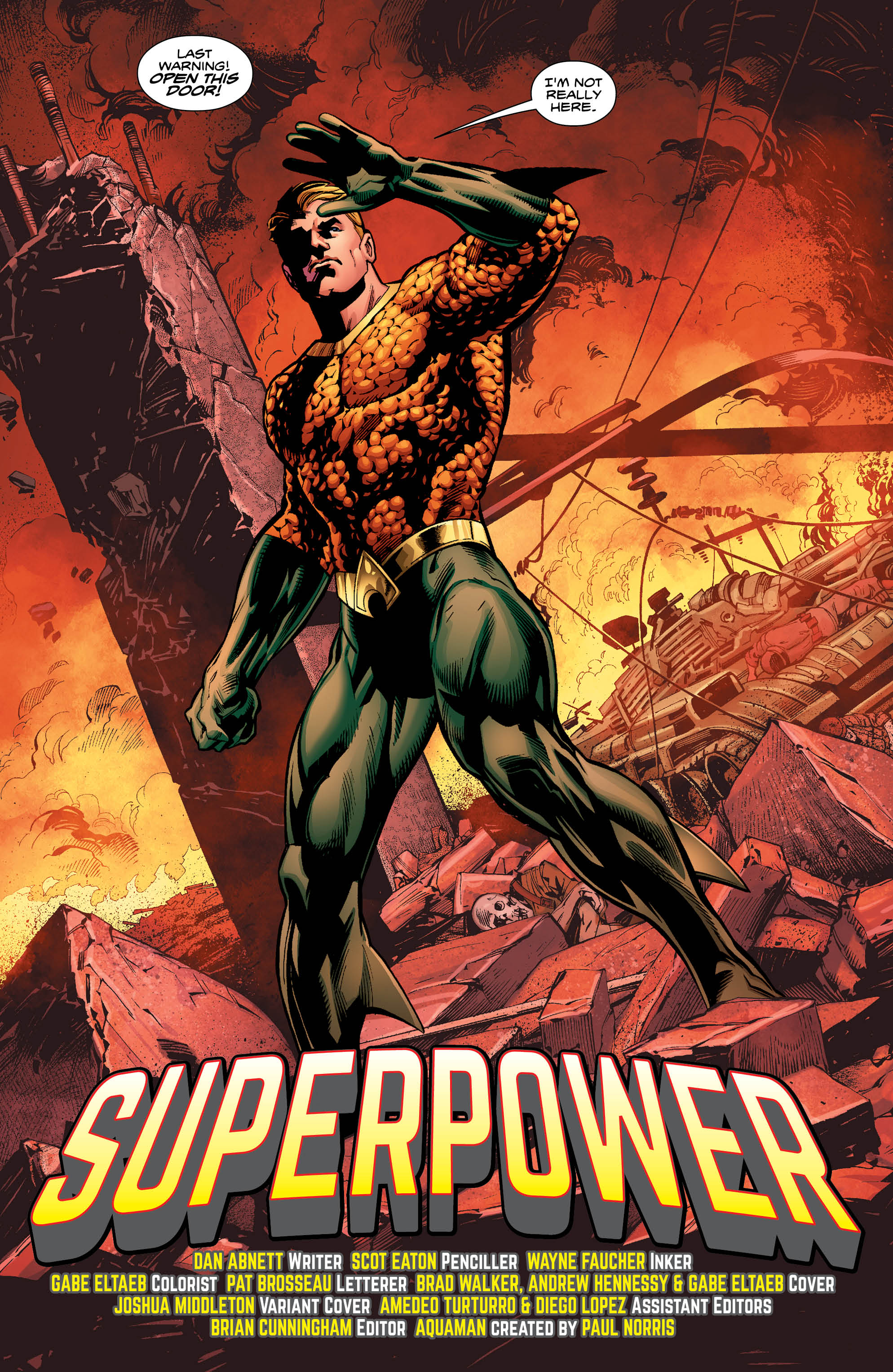 Aquaman #18, Page 2